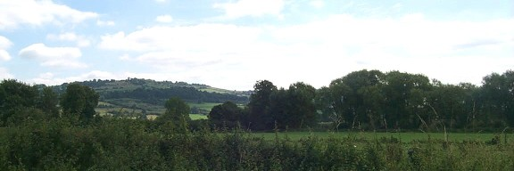 Hill view from Bitton